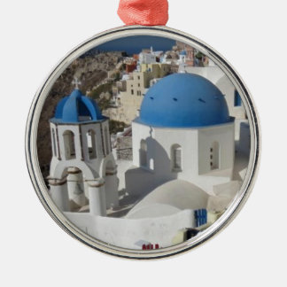 Mykonos Grekland reser Julgransprydnad Metall