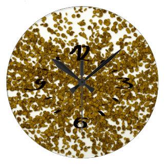 mynt stor klocka