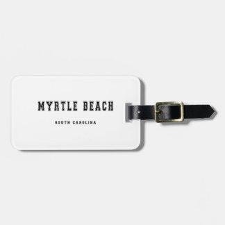 Myrtle Beach South Carolina Bagagebricka