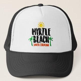 Myrtle Beach vattenfärg Keps