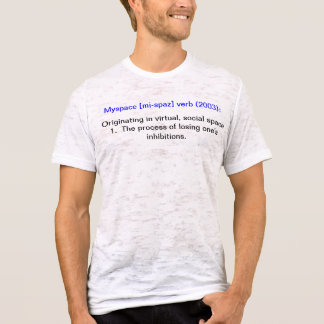 Myspace definition tshirts
