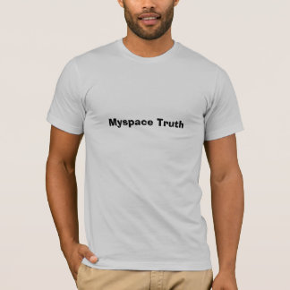 Myspace sanning tee shirt