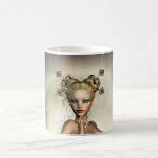 Mystic månesjöjungfru kaffemugg