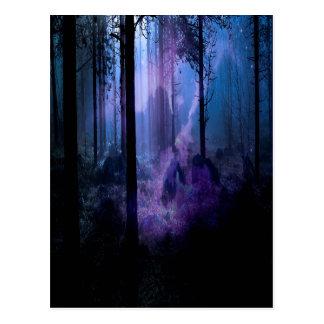 Mystic natt vykort