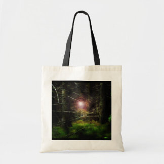 Mystical Forest III Canvas Bags
