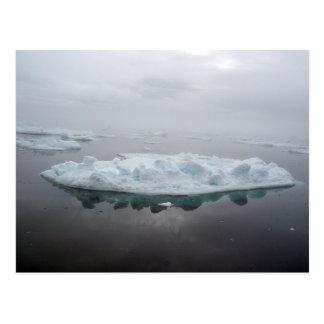 Mystisk isbergvykort vykort