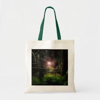 Mystisk skog II Budget Tygkasse
