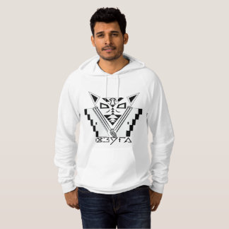 Mystisk vargHoodie Sweatshirt Med Luva