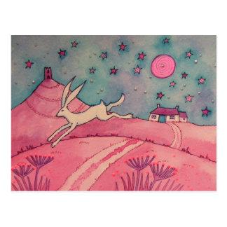 Mystiska Hare Vykort