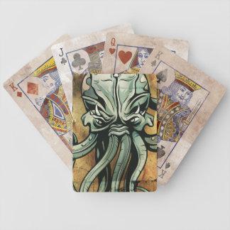 Mytisk havsvarelseillustration spelkort