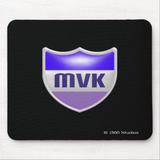 MyVirtualKingdom skyddar Mousepad - svart Musmatta