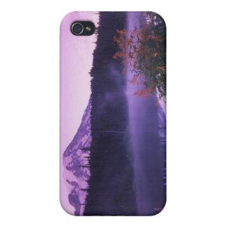 N.A. USA, Washington, Mount Rainier medborgare iPhone 4 Hud