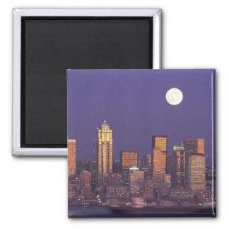 N.A. USA, Washington, Seattle Seattle horisont Magnet