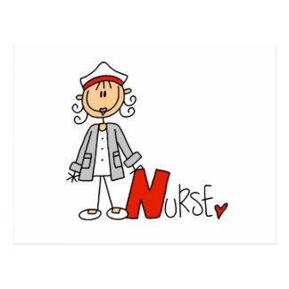 N är för sjuksköterska vykort