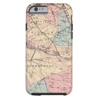 N Burlington County, NJ Tough iPhone 6 Fodral