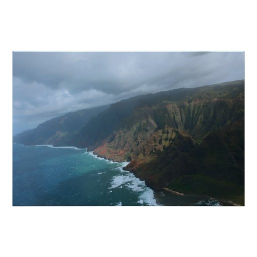 na-palikusten kauai affischer