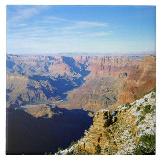 NA USA, Arizona. Grand CanyonmedborgarePark. Kakelplatta