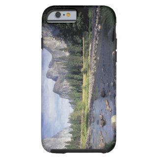 NA USA, Kalifornien, Yosemite NP, dalen beskådar Tough iPhone 6 Fodral
