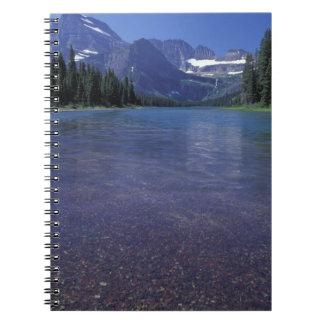 NA USA, Montana, glaciärmedborgarePArk. Anteckningsbok