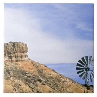 NA, USA, Texas kvarn och klippor av den Palo duroe Kakelplatta