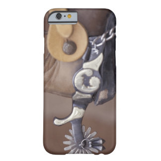 NA USA, Texas, Lubbock Cowboykänga och sporrar Barely There iPhone 6 Fodral