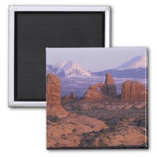 NA USA, Utah, välva sig nationalparken. Trädgård a Magnet