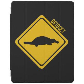 näbbdjurvägmärke iPad skydd
