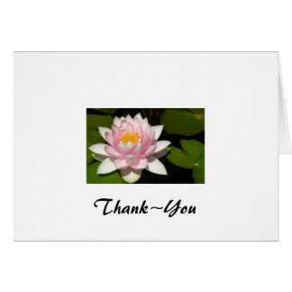 näckros Thank~You OBS Kort