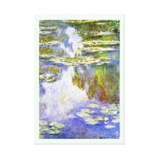 NäckrosClaude Monet coola, gammalt som är ledar-, Canvastryck