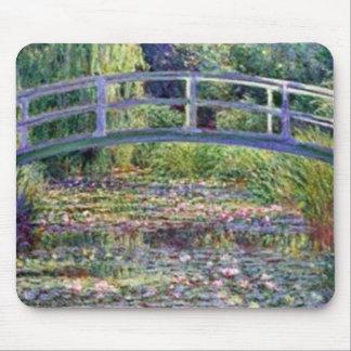 Näckrosdamm vid Claude Monet Mousepads Musmatta