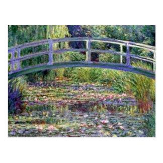 Näckrosdamm vid Claude Monet Vykort