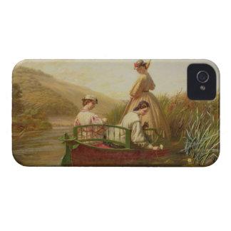 Näckrosor 1864 (olja på kanfas) iPhone 4 Case-Mate cases