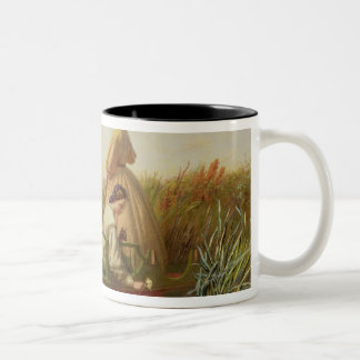 Näckrosor 1864 (olja på kanfas) kaffe muggar