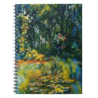Näckrosor av Monet Anteckningsbok