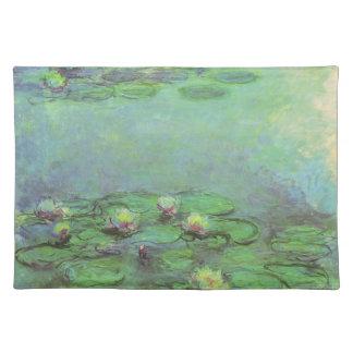 Näckrosor vid Claude Monet, vintageImpressionism Bordstablett