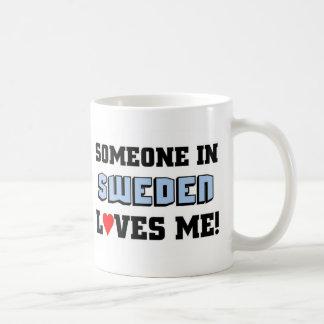 Någon i sverige älskar mig kaffemugg