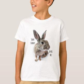 Någon kanin älskar mig samlingskaninpåsken tröjor