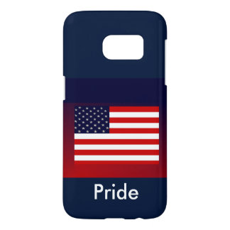 Någon-Röd/vit/blått patriotisk S7 iphone case 4 Galaxy S5 Skal