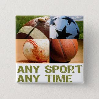 Någon sport någon tajmar standard kanpp fyrkantig 5.1 cm
