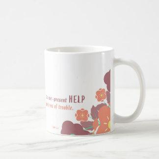 Någonsin närvarande hjälp kaffemugg
