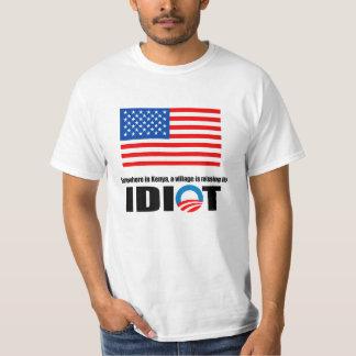 Någonstans i Kenya är en by saknad dess idiot T-shirt