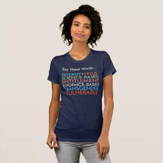 Något att säga dessa 7 ord t-shirt