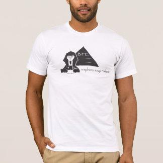 Något att säga för en Sphinx vad? Tee Shirt