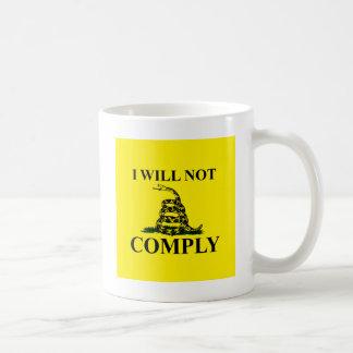 Något att säga INTE till kommunism! Kaffemugg