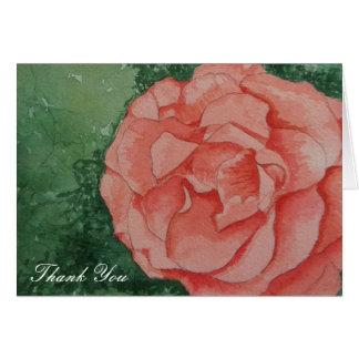 Något att säga tackar dig med en ro hälsningskort