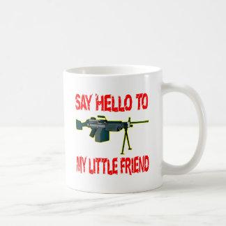 Något att sägahejer till min vän SÅGAR lite Kaffemugg
