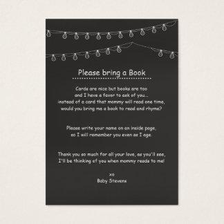 Något bryggar bokförfrågankort visitkort
