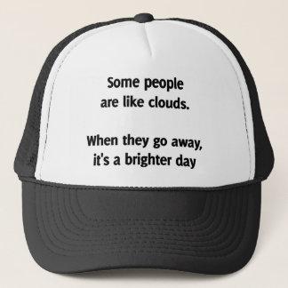Något folk är lika moln. När de går bort Keps
