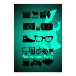 Något gillar du -1 - pensionpartyinbjudan 8,9 x 12,7 cm inbjudningskort