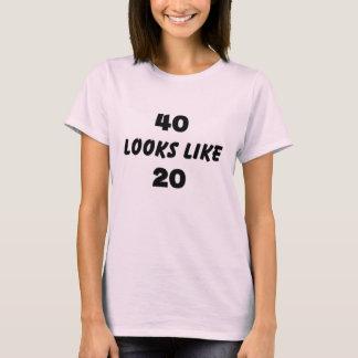något liknande 20 för 40 looks tee shirt